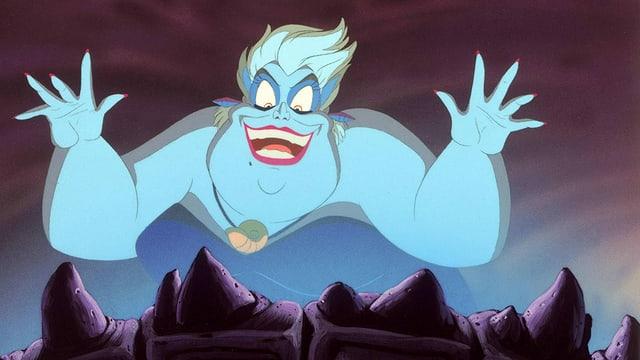 Ursula will die sieben Weltmeere unterjochen.