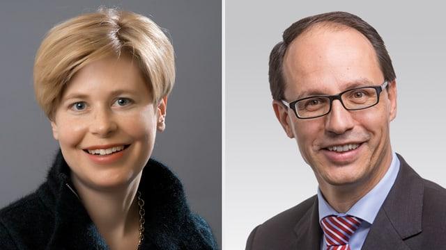 Esther Friedli und Marc Mächler
