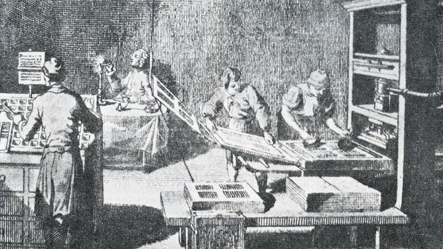 Ina stamparia da temp vegl