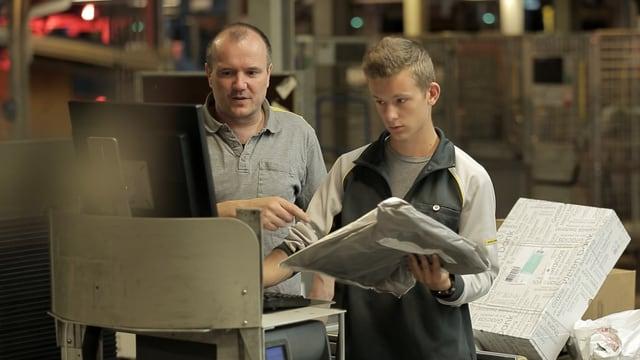 Video «Berufsbild: Logistiker EFZ» abspielen
