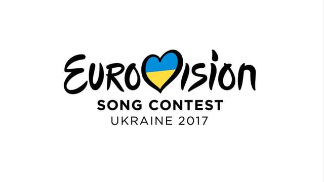 Schrift: Eurovision Song Contest Ukraine 2017