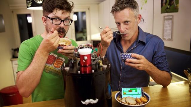 Video «SRF Gadgets, Folge 5 – «Chefkoch automatique»» abspielen