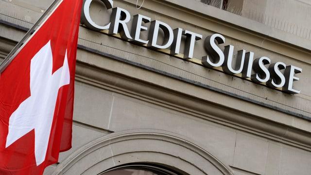 Das Logo der Grossbank Credit Suisse.
