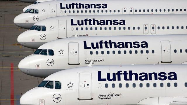 Aviuns da la Lufthansa.