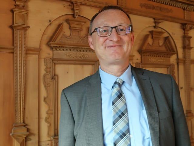 Der Schwyzer SVP-Politiker Herbert Huwiler.