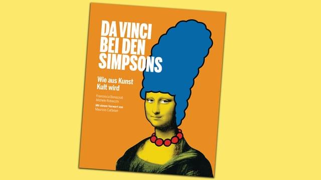 Buchcover Da Vinci bei den Simpsons