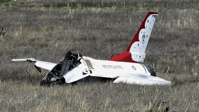 Verunfallter Jet