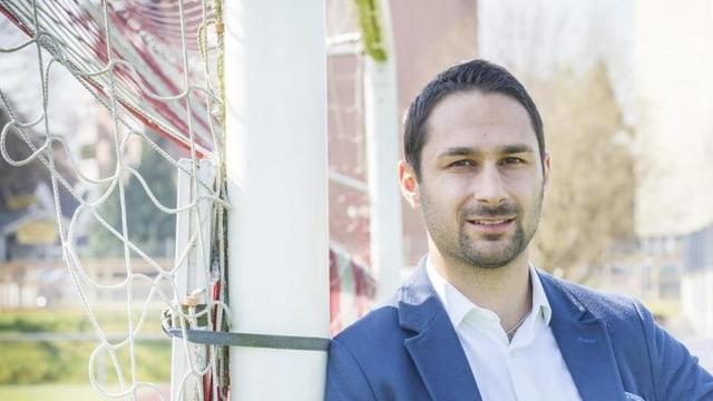 Gabriel Macedo, Kandidat der FDP, will Amriswiler Stadtpräsident werden.