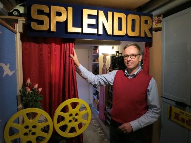 Pfarrer Felix Wicki und sein Kino Splendor