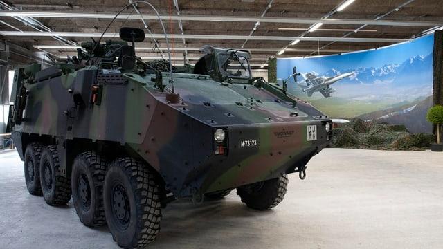 Ein neues Armeefahrzeug