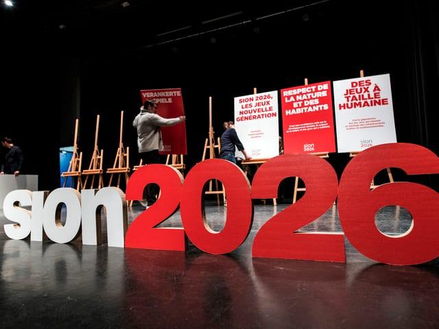2026 sollen die Olympischen Spiele in Sion und Kandersteg stattfinden.