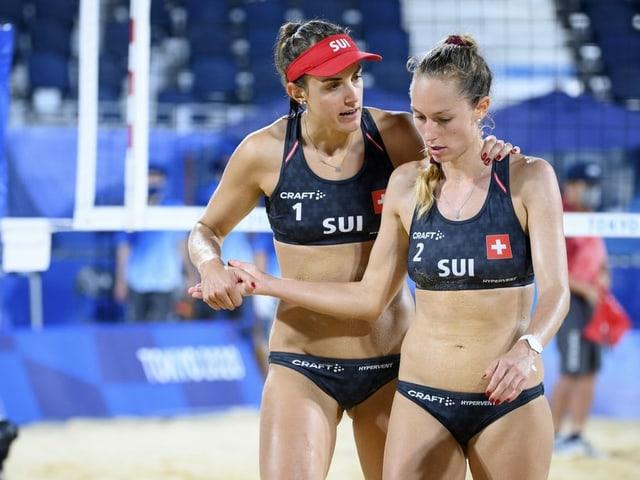 Tanja Hüberli und Nina Betschart.
