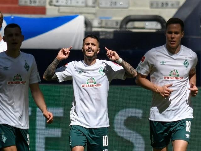 Werder Bremen stemmt sich gegen den Abstieg.