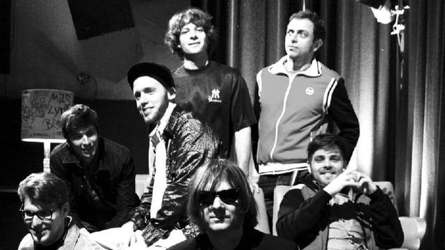 Auf dem Album «Bluemeweg» sagen die 7 Schaffhauser selber: «Mier hend en Flick ab»