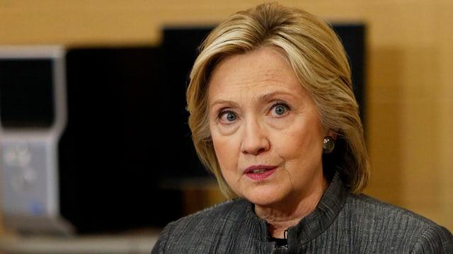 La democrata Hillary Clinton vul candidar sco president americana.