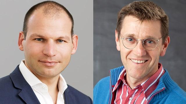 Prof. Boris B. Quednow und Dr. Martin Schmitz