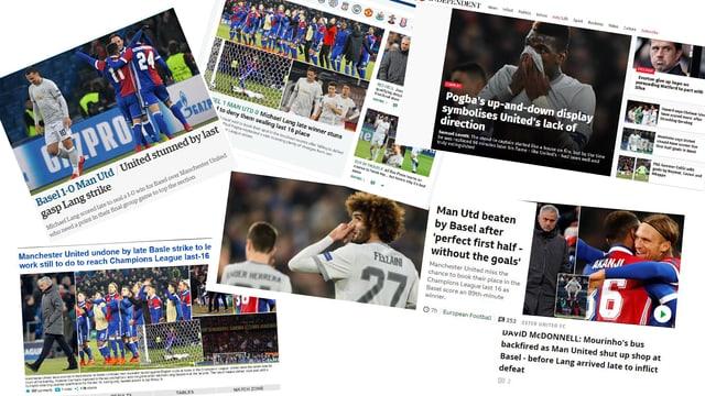 Die englischen Medien kritisieren Manchesters Auftritt in Halbzeit 2.