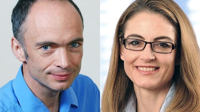Dr. Lutz Frank und Dr. Monika Jaquenod-Linder