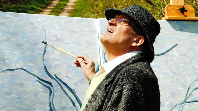 Video «David Hockney – A Bigger Picture» abspielen