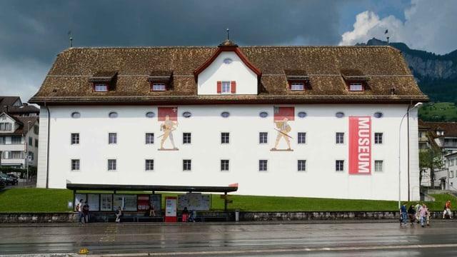 Das Forum der Schweizer Geschichte in Schwyz.