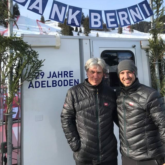 Andreas Wieland e Bernhard Schär
