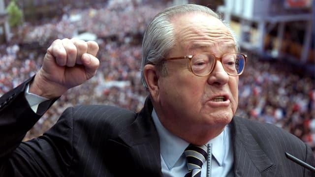 Jean-Marie Le Pen in einer Archivaufnahme