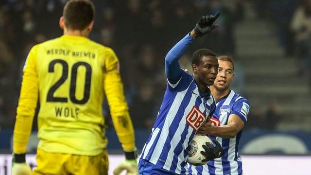 Der Kolumbianer erzielte 5 der letzten 7 Hertha-Tore.