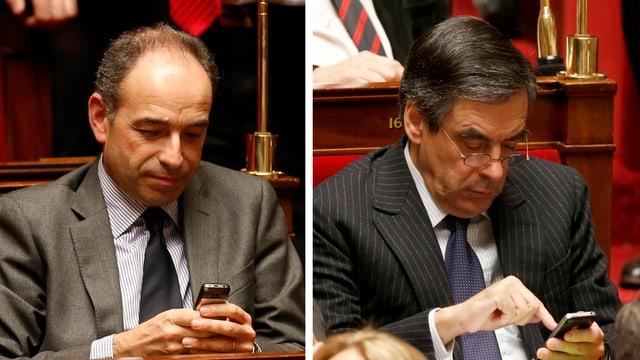 Jean-François Copé und François Fillon.