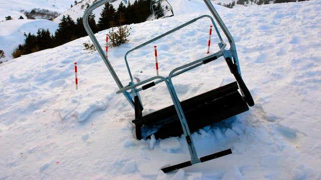 Sesseliabsturz am 3. Januar 2008 auf der Kleinen Scheidegg