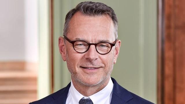 Beat Feurer, SVP-Mitglied, Direktor Soziales und Sicherheit in Biel