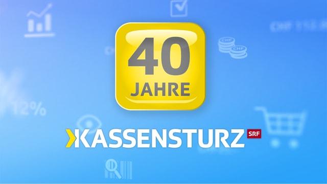 Logo 40 Jahre Kassensturz