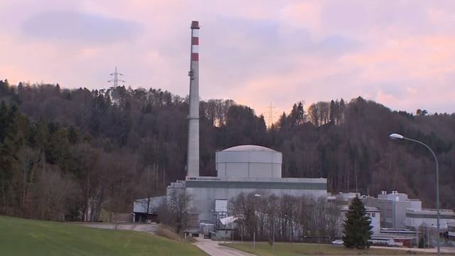 Ovra atomara Mühleberg.