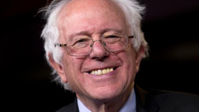 Abgebildet ist Bernie Sanders.