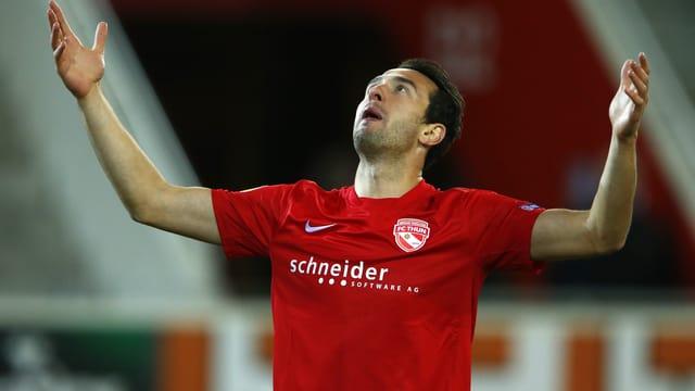 Berat Sadik wird dem FC Thun mehrere Wochen fehlen.