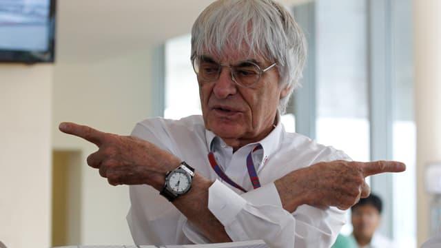 Formel-1-Boss Bernie Ecclestone.