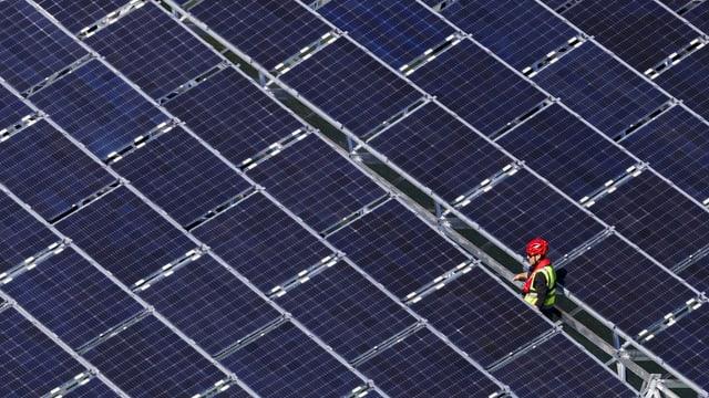 In lavurer tranter panels solars.