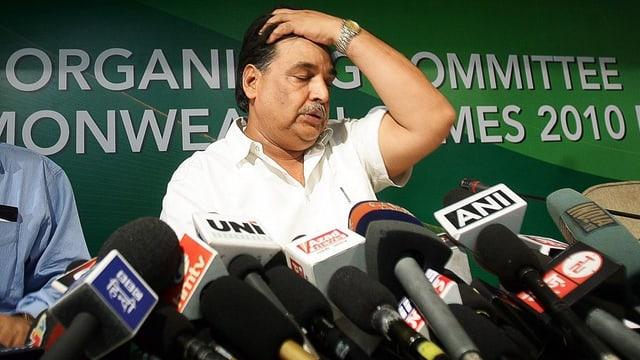 Lalit Bhanot, der einzige Kandidat für den Posten des Generealsekretärs beim NOK Indien.