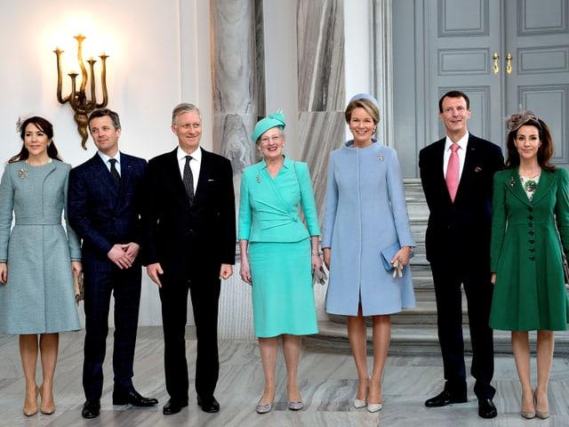 Familienfoto Königsfamilie Belgien