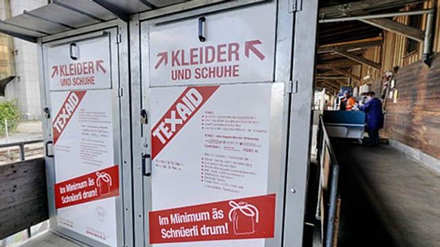 Altkleider-Container.