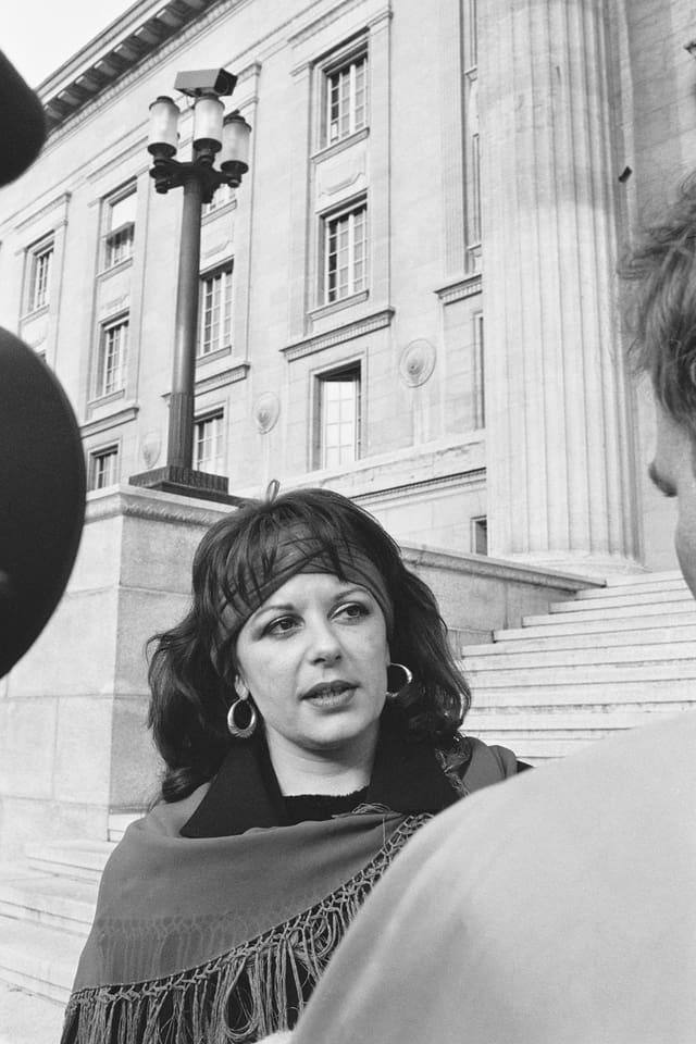 Theresa Rohner vor Bundesgericht
