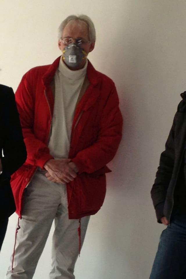Christian Schifferle, MCS-Betroffener und Bewohner des Anti-Allergiker-Hauses