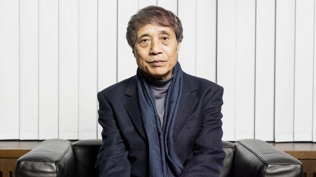 In portrait da l'architect Tadao Ando.