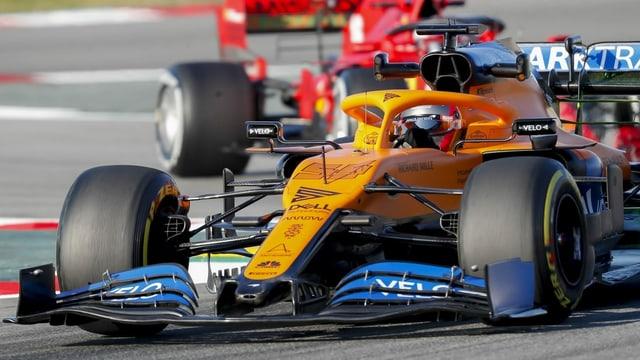 Auto da cursa da McLaren.