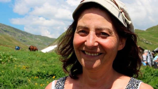 La presidenta communala da la Bregaglia Anna Giacometti.