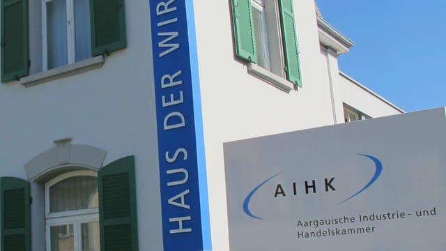 AIHK-Gebäude in Aarau.
