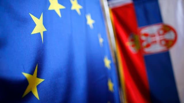 Verhandlungen mit Serbien
