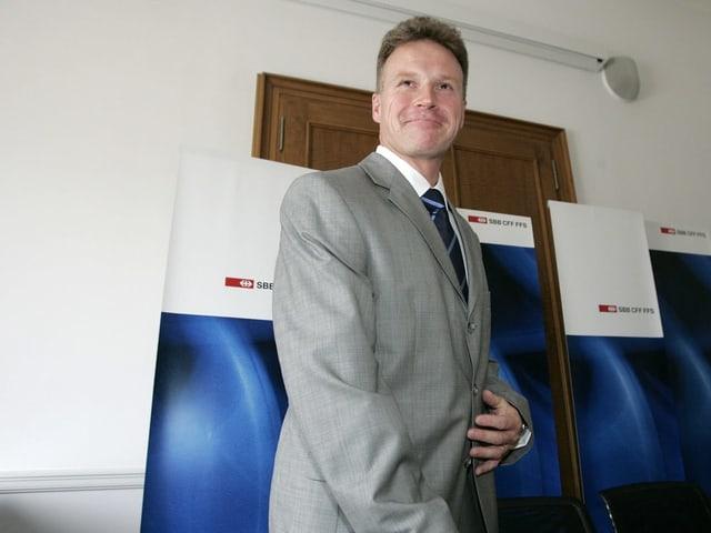 Andreas Meyer bei Amtsantritt.