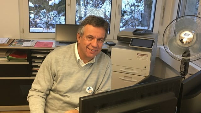 Jürg Michel il president da l'Uniun d'economia grischuna.