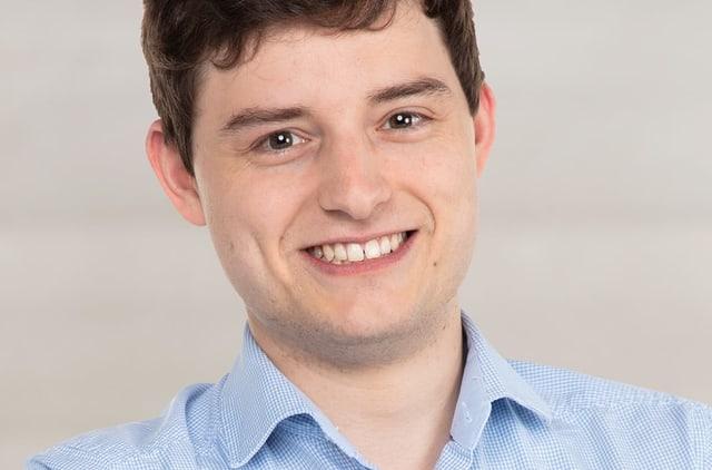 Benjamin Fischer, Präsident der jungen SVP.