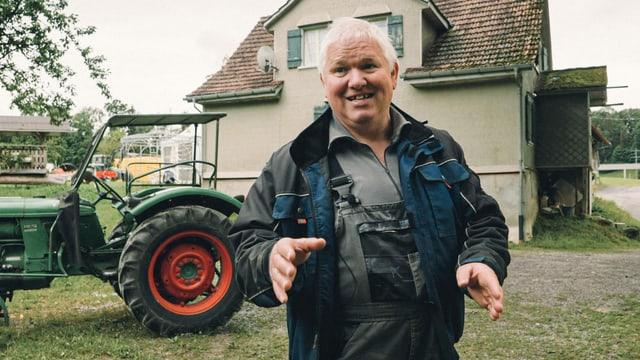 Max Gmür trauert um das Openair St.Gallen.